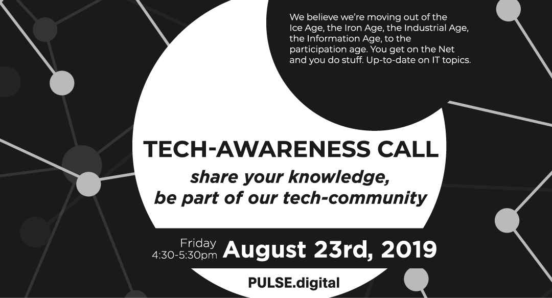 TECH-AWARENESS #2 Eyes-Wide-Open on IT Topics